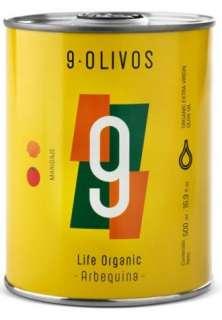 Aceite de oliva 9-Olivos, Arbequina