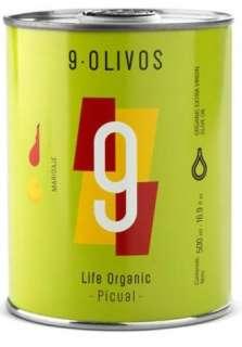 Aceite de oliva 9-Olivos, picual