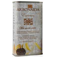 Aceite de oliva Arbonaida, Esencias Tedeum
