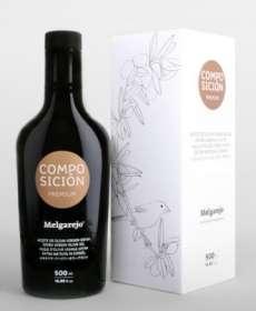 Aceite de oliva Melgarejo, Premium Composición