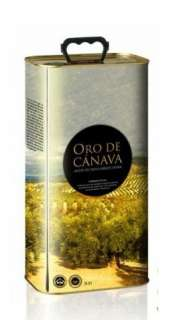 Aceite de oliva Oro de Cánava