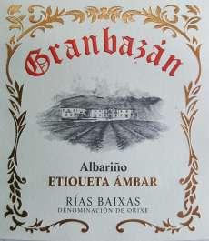 Vino blanco Granbazan Etiqueta Ambar
