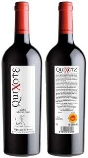 Vino tinto Quixote MBCF 2009