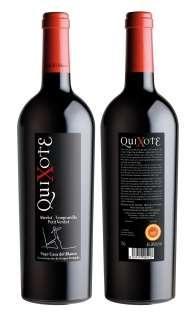 Vino tinto Quixote MTPV 2012