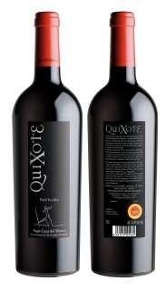 Vino tinto Quixote PV 2012