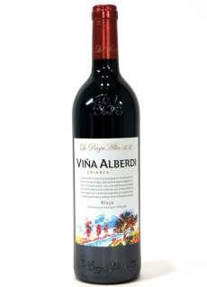 Vino tinto Viña Alberdi