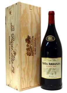 Vino tinto Viña Ardanza  en caja de madera (Magnum)